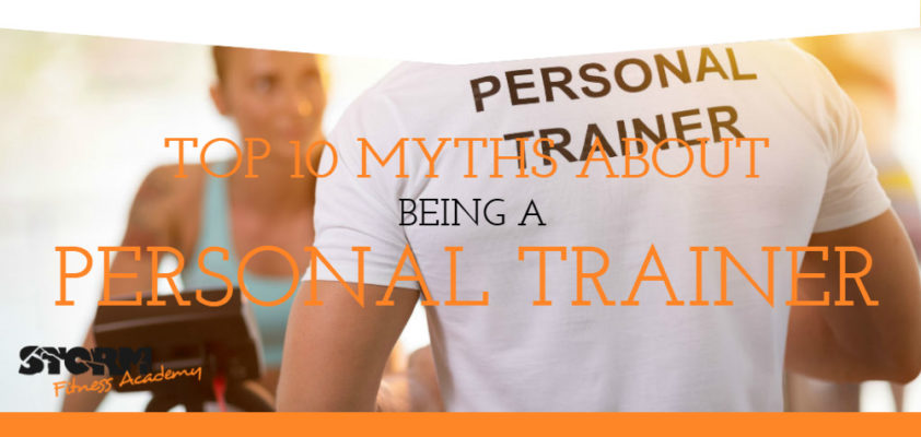 Top 10 myths about being a personal trainer