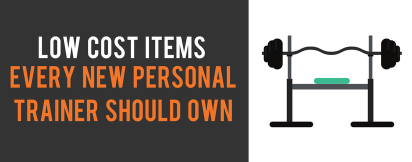 Low cost items every new personal trainer should own