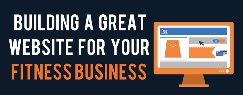 Blog header image - Building a great website for your fitness business