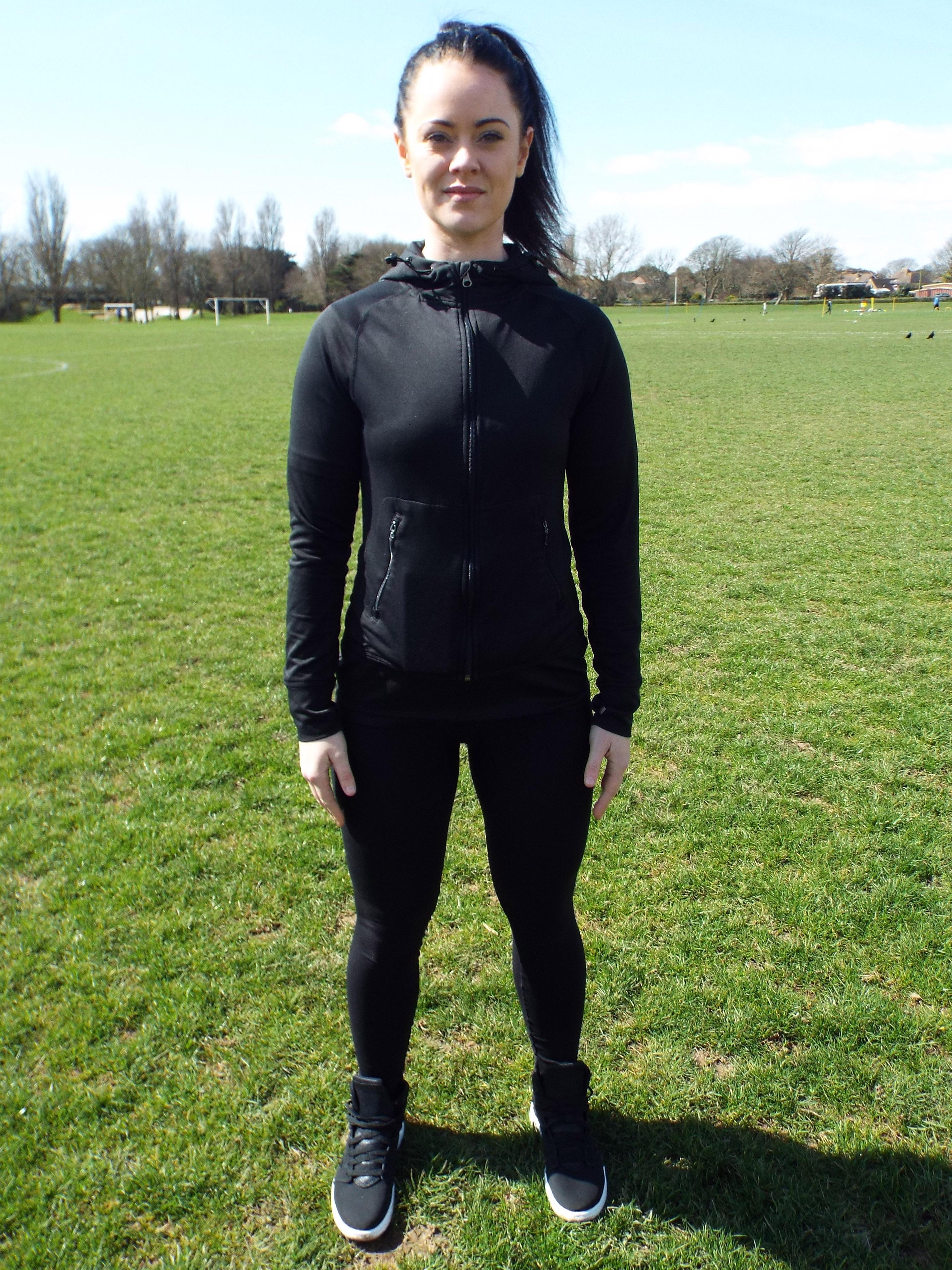 Correct stance - Feet shoulder width apart
