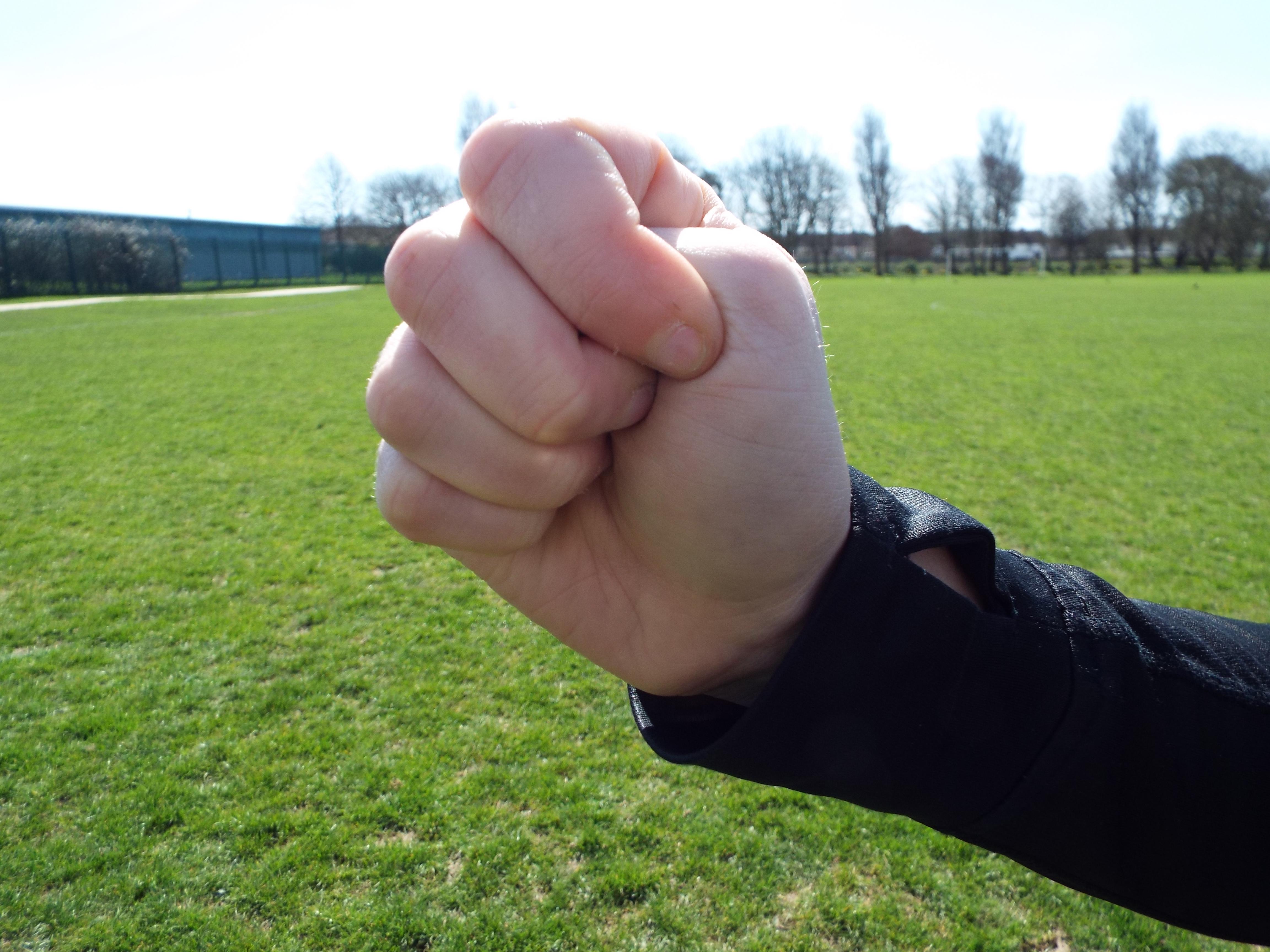 Incorrect fist