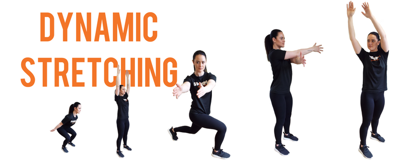 Blog header image - Dynamic Stretching