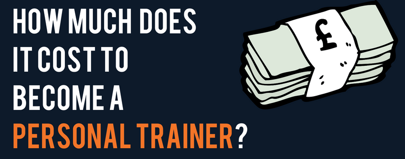 Blog header image - How much does it cost to become a personal trainer?