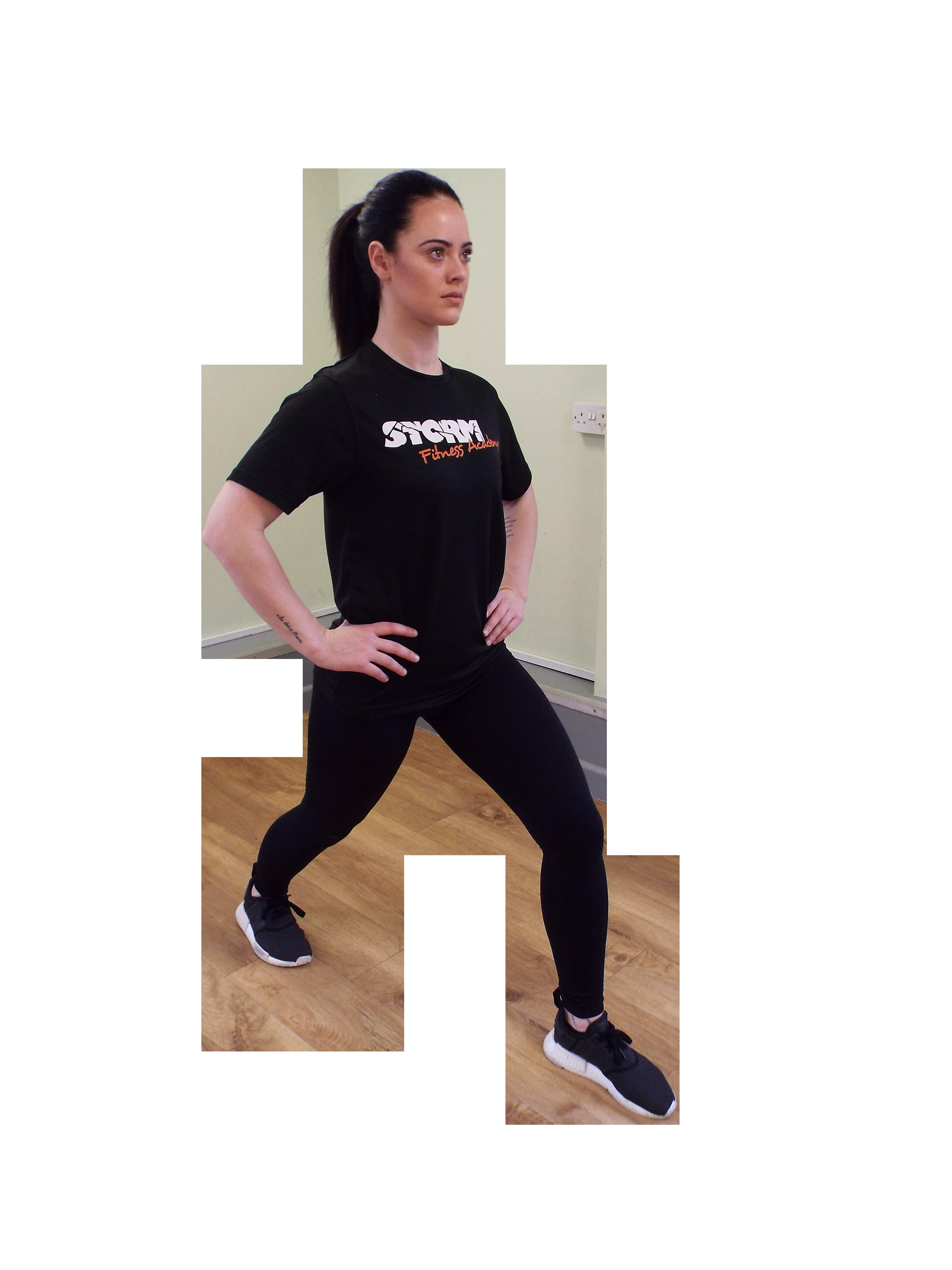 Stretch routine - Standing gastrocnemius