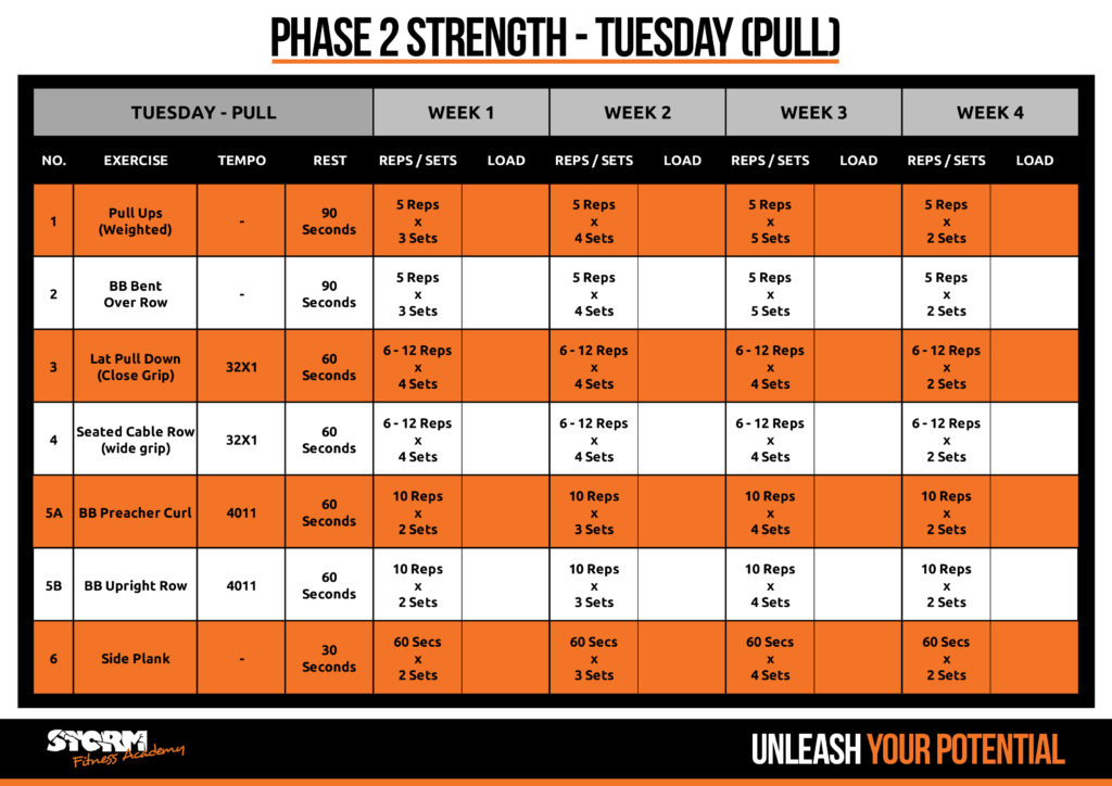 strength pull