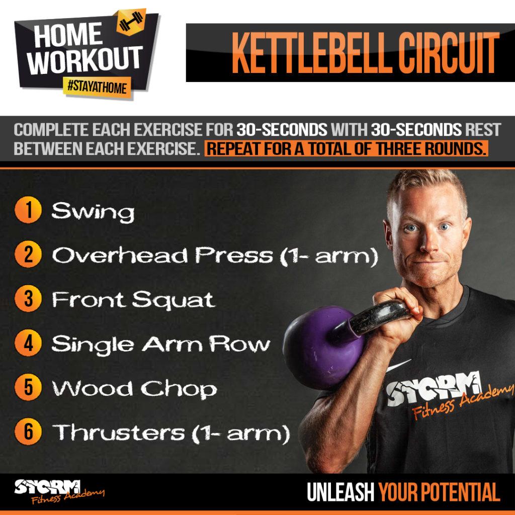 Kettlebell workout with Jon Bond