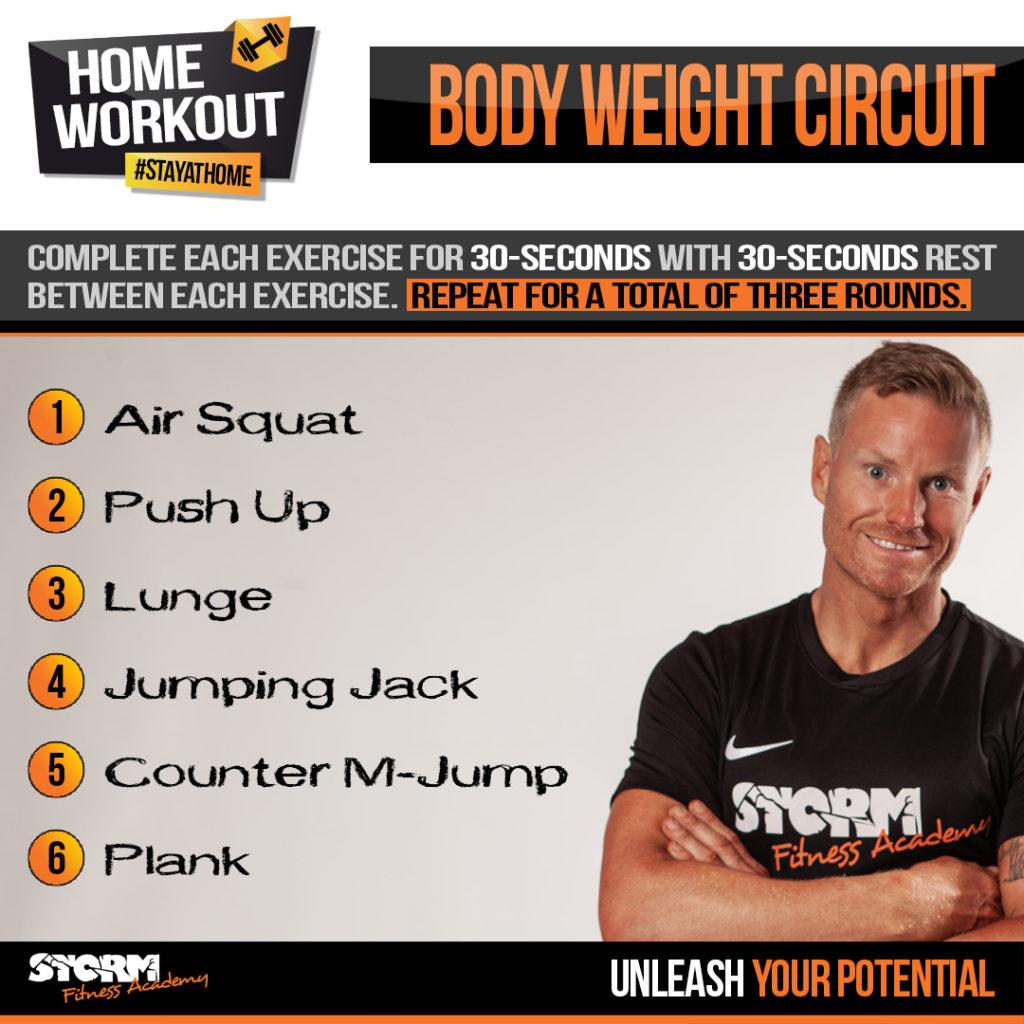 Jon Bond explains how to plan a Bodyweight Circuit